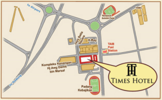 Times Hotel Map Location